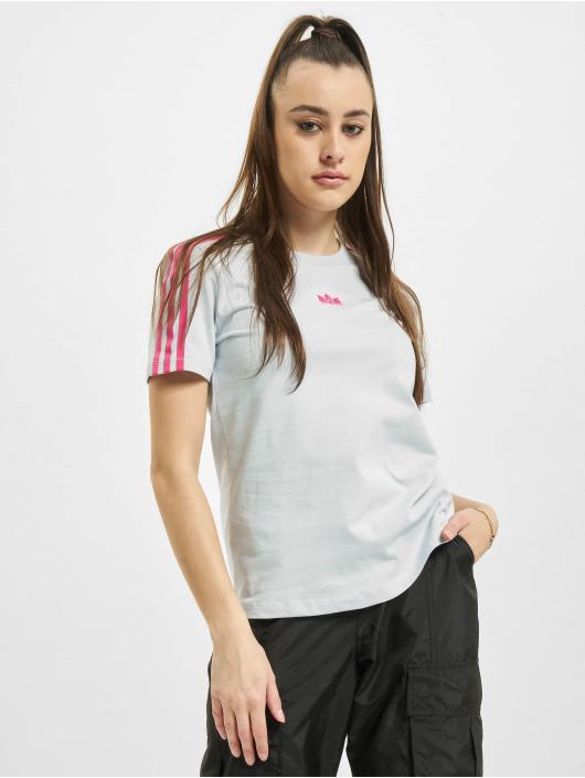 adidas Originals T-Shirt Slim blau