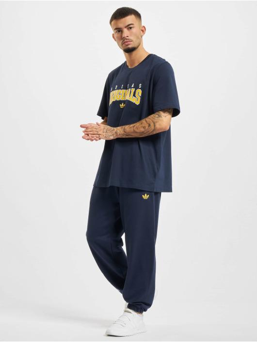 adidas Originals T-Shirt Script blau