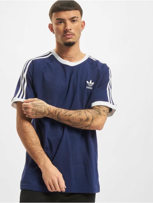 adidas Originals T-Shirt 3-Stripes blau