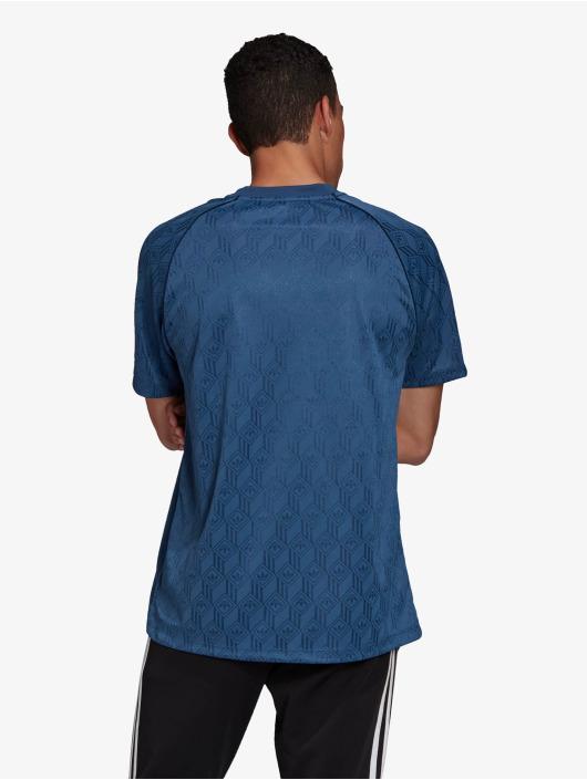 adidas Originals t-shirt Mono blauw
