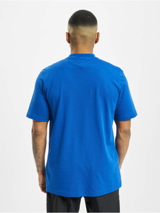 adidas Originals t-shirt Outline Trefoil Logo blauw