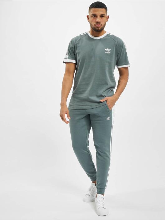 adidas Originals t-shirt 3-Stripes blauw