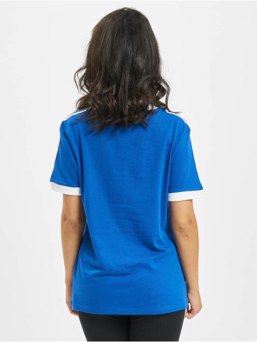 adidas Originals T-Shirt Originals 3 Stripes bleu