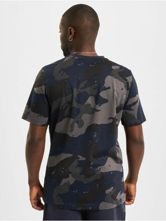 adidas Originals T-Shirt Camo AOP bleu