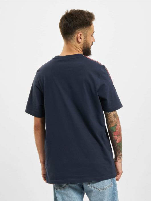 adidas Originals T-Shirt 3 Stripe bleu