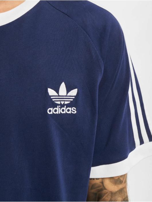 adidas Originals T-Shirt 3-Stripes bleu