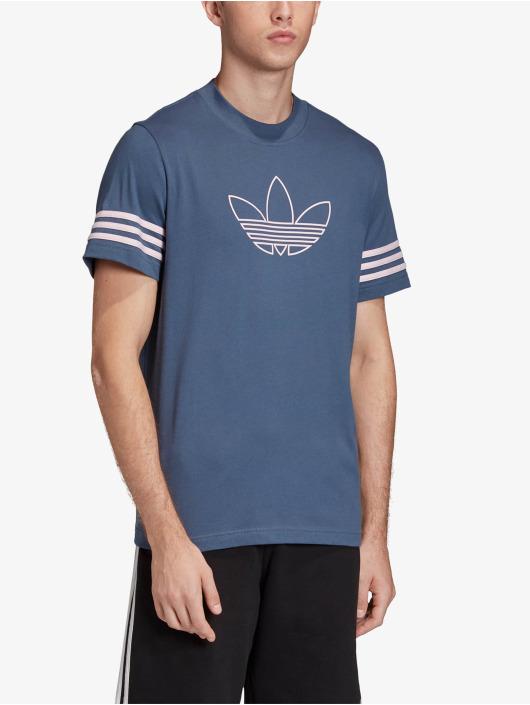 adidas Originals T-Shirt Outline blue