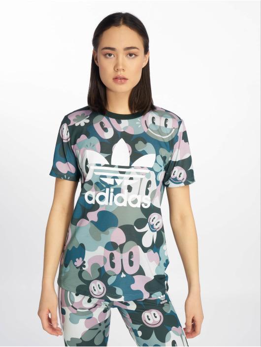 adidas originals t-shirt Trefoil bont