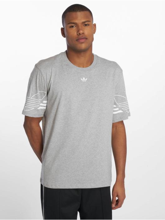 adidas originals T-Shirt Outline grau