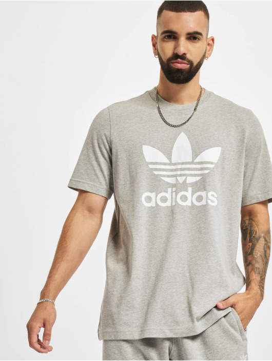adidas Originals T-Shirt Trefoil grau