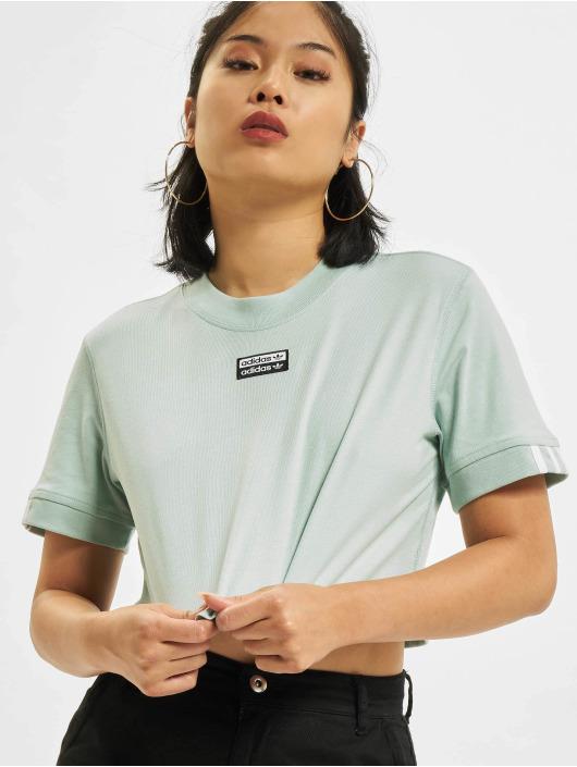 adidas Originals T-Shirt Cropped green