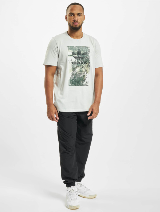 adidas Originals T-shirt Camo Tongue grigio