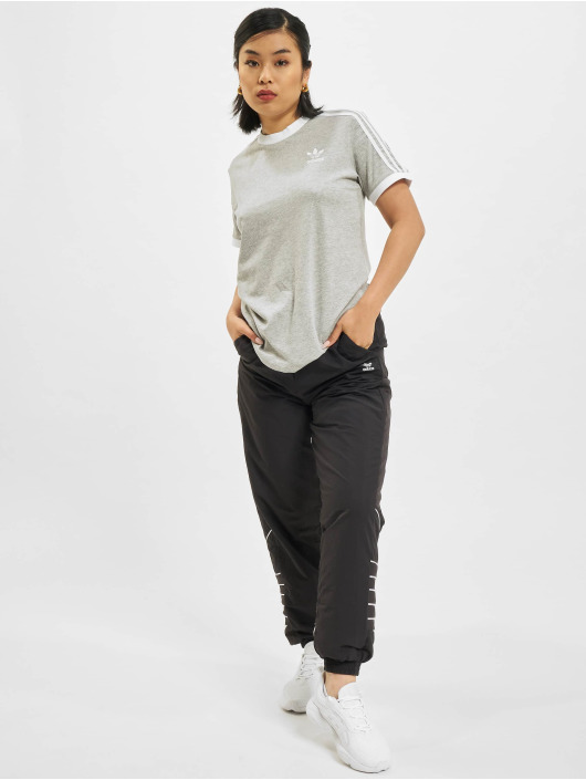 adidas Originals T-shirt 3 Stripes grigio