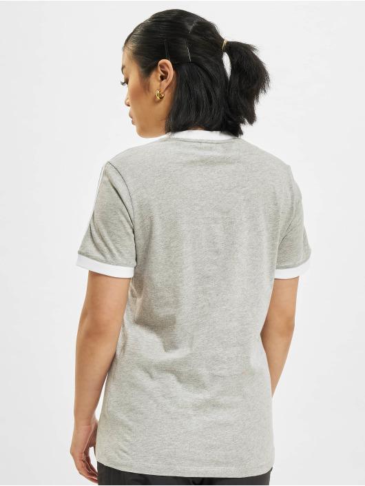 adidas Originals t-shirt 3 Stripes grijs