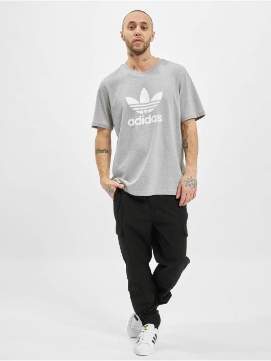 adidas Originals T-Shirt Trefoil T gris