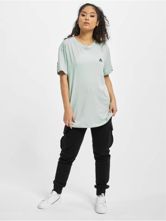 adidas Originals T-Shirt Muat Haves 3 Stripes grün