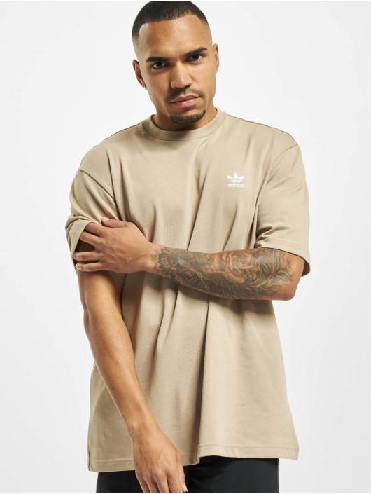 adidas Originals t-shirt Back And Front Print Trefoil khaki