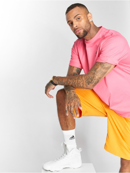 adidas originals T-Shirt Backprint magenta