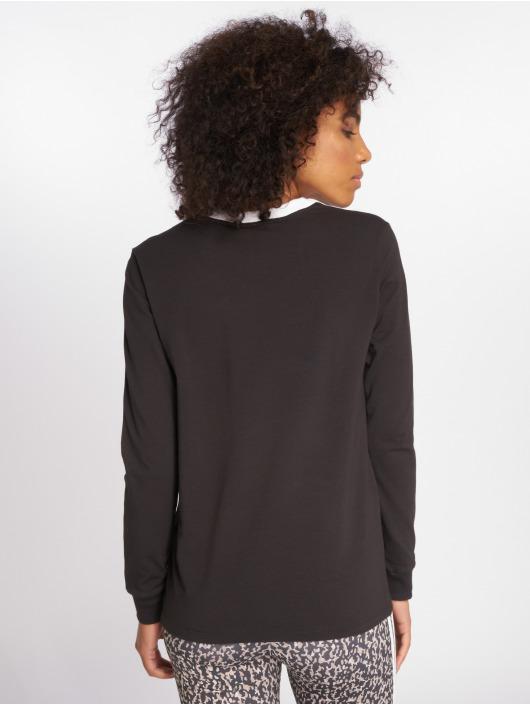 adidas originals T-Shirt manches longues originals 3 Stripes noir