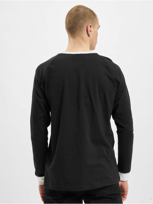 adidas Originals T-Shirt manches longues Originals 3-Stripes noir