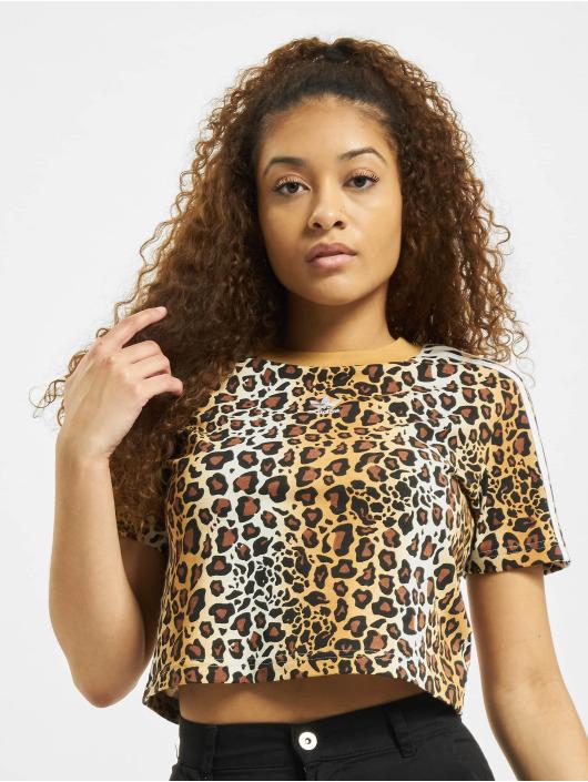 adidas Originals T-shirt Cropped marrone