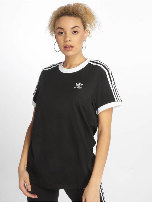 adidas originals T-Shirt originals 3 Stripes noir