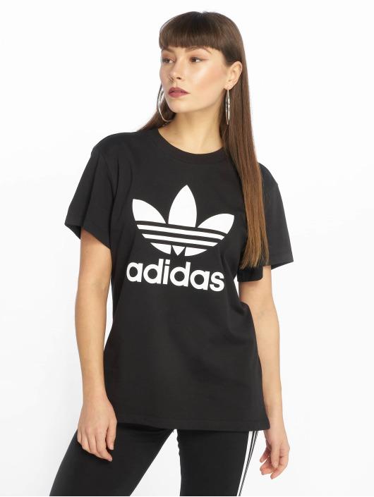 Originals T Femme 599073 Boyfriend Noir shirt Adidas iXuTOkZP