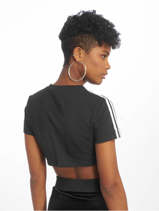 fe1ed5c7dee1 ... adidas originals T-Shirt Cropped noir ...