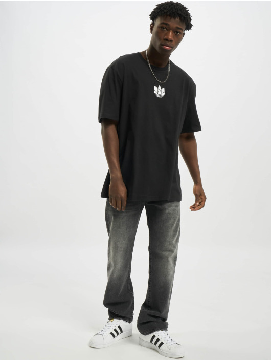 adidas Originals T-Shirt 3D Trefoil noir