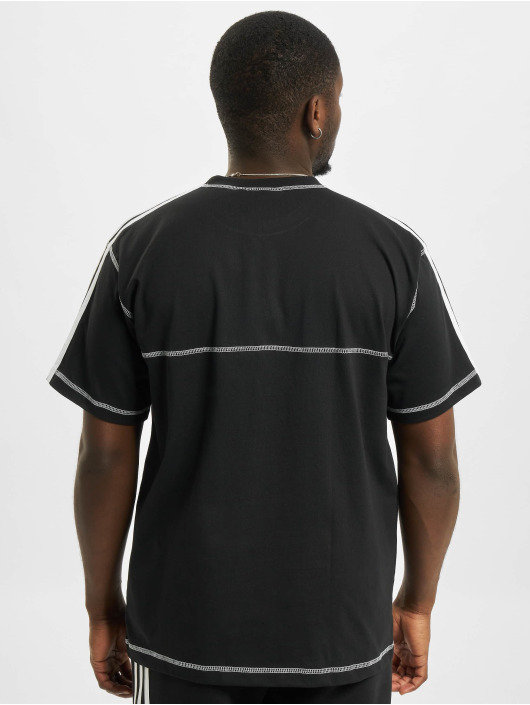 adidas Originals T-Shirt Contrast Stitch noir