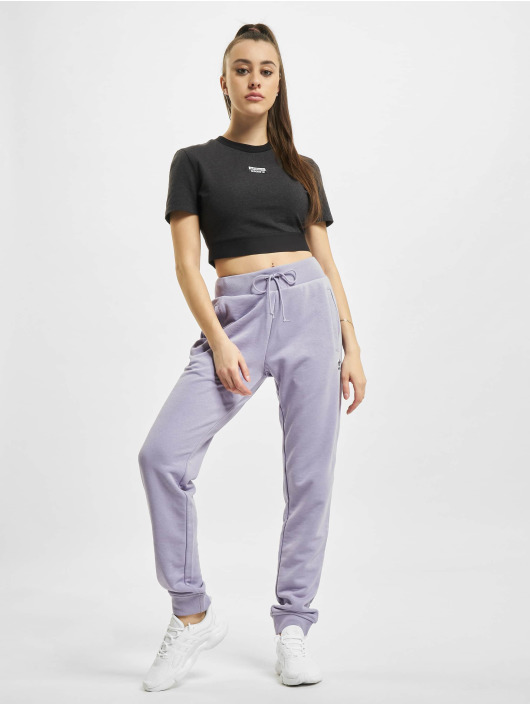 adidas Originals T-Shirt Cropped noir