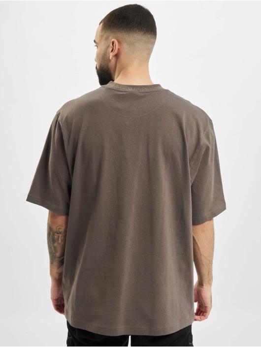 adidas Originals t-shirt Rib Detail olijfgroen