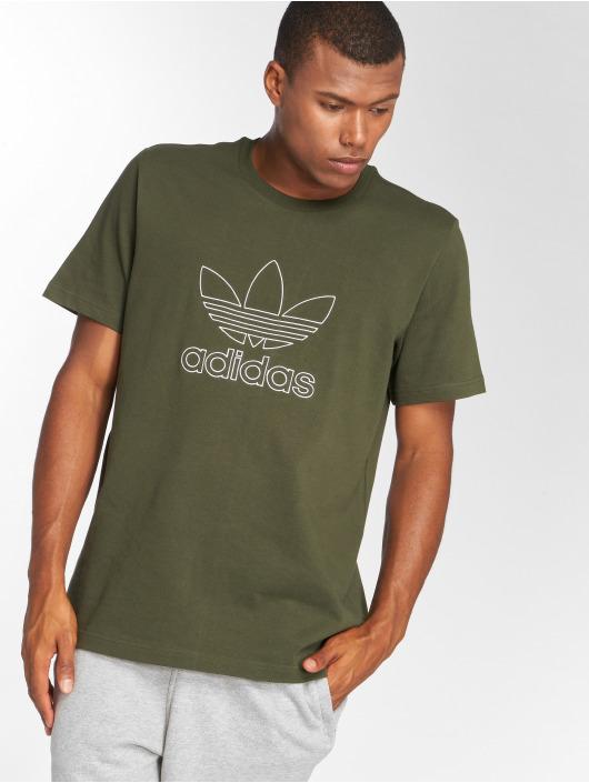 adidas Originals T-Shirt Outline Tee olive