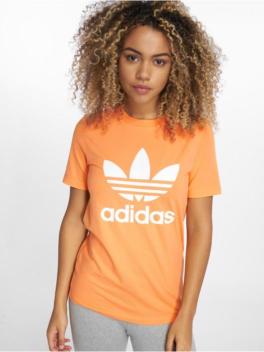 adidas originals T-Shirt Trefoil orange