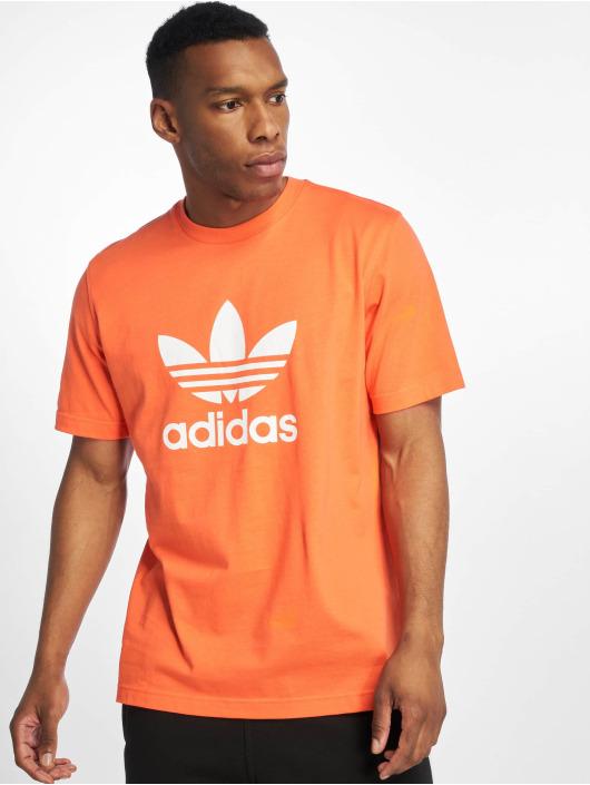 adidas Originals Trefoil T Shirt True Orange