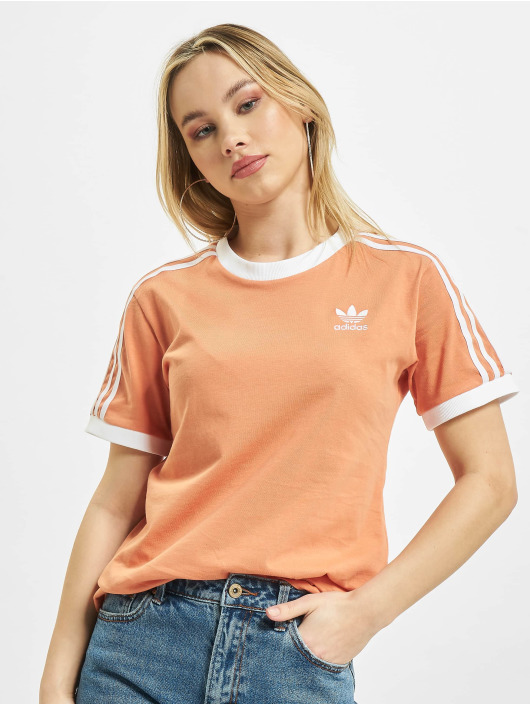 adidas Originals T-Shirt 3 Stripes orange