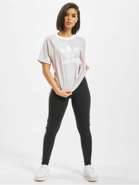 adidas Originals t-shirt Big Logo paars