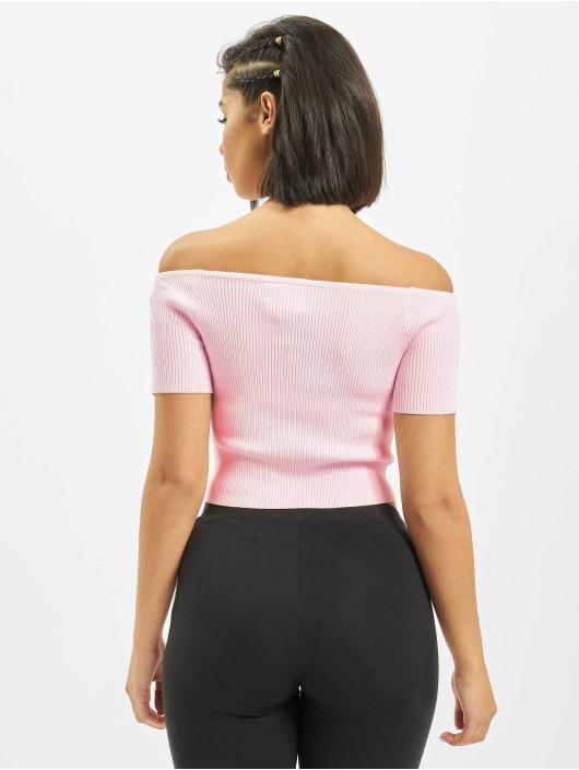 adidas Originals t-shirt Offshoulder pink