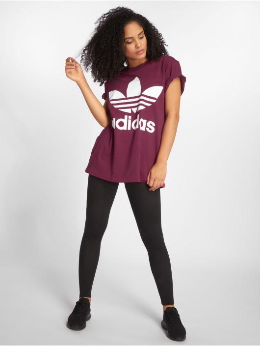 adidas originals T-Shirt Big Trefoil pourpre