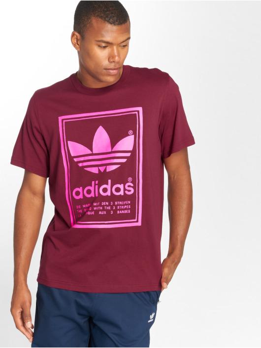 adidas originals T-Shirt Vintage red