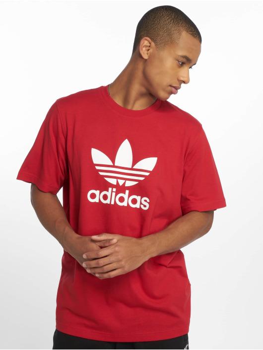 adidas originals T-Shirt Trefoil red