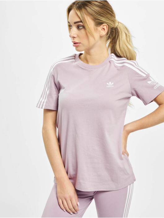 adidas Originals T-Shirt Lock Up rose