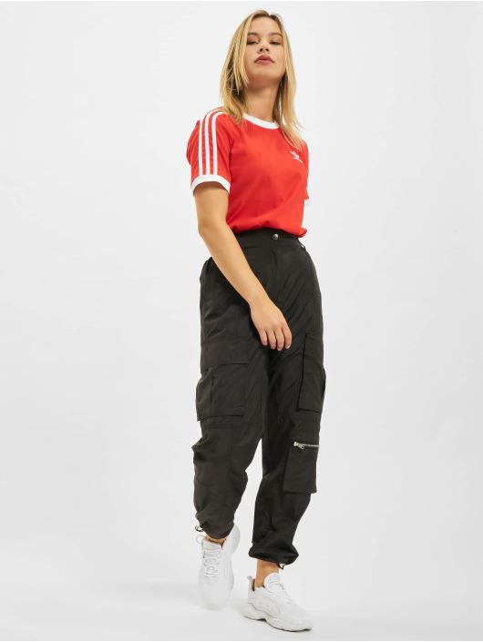 adidas Originals T-Shirt 3 Stripes rot