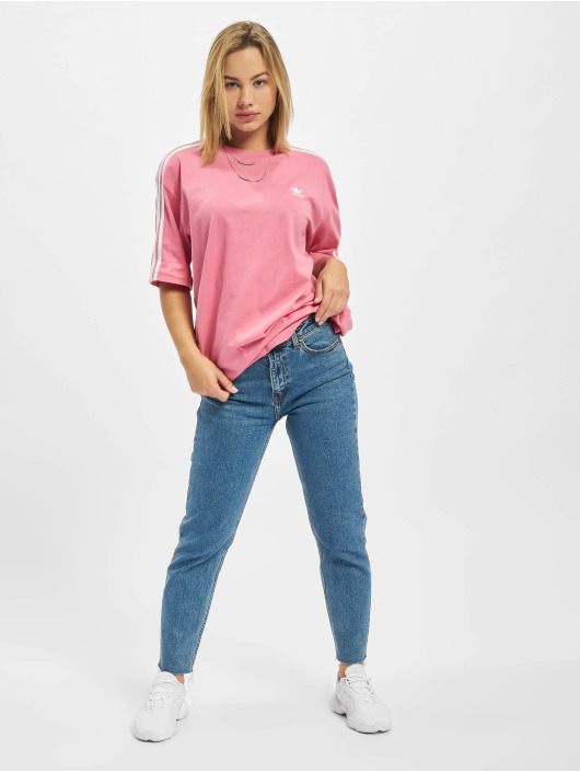 adidas Originals T-Shirt Oversized rot