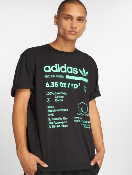 adidas originals T-Shirt Kaval Grp schwarz