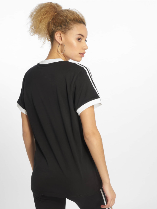 adidas Originals T-Shirt originals 3 Stripes schwarz
