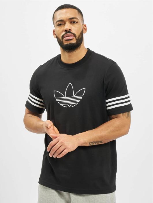 adidas Originals T-Shirt Outline schwarz