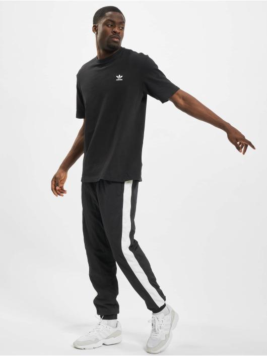 adidas Originals T-Shirt Back and Front Print Trefoil schwarz