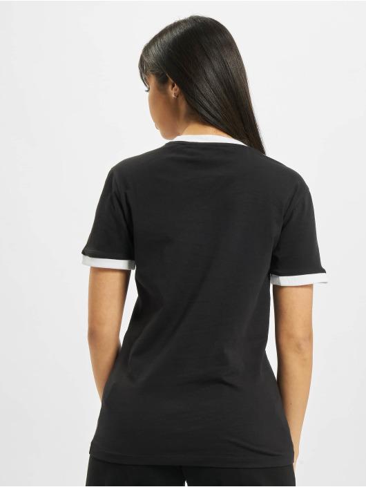 adidas Originals T-Shirt 3 Stripes schwarz
