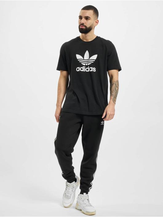 adidas Originals T-Shirt Trefoil schwarz